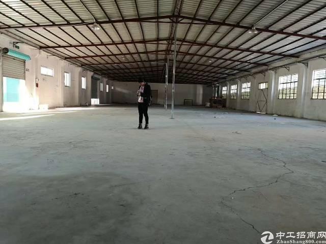 龙岗坪地六联龙岗大道边独院钢构带装修厂房4650平米出租