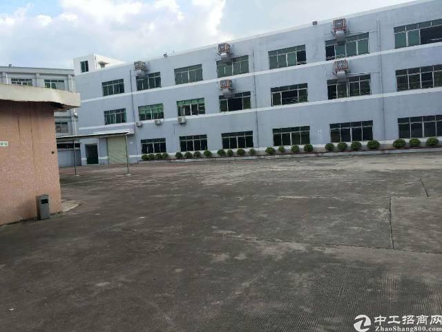博罗杨村独院厂房6000平方带家具环评厂房出租