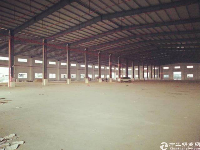 惠州市博罗县新出独门独院顶尖钢构厂房招租