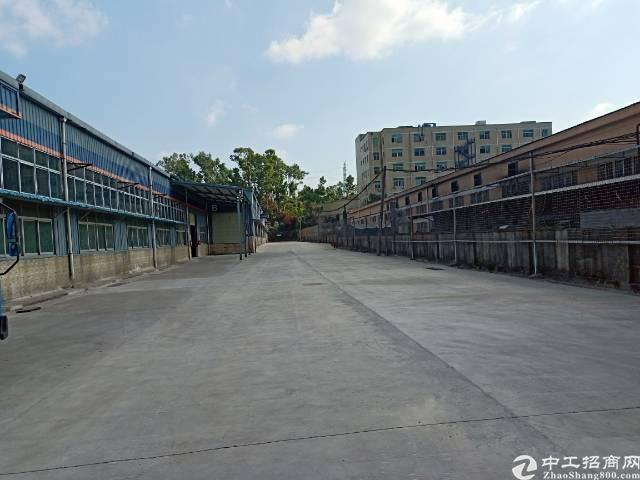 石岩龙大高速出口处新出一楼4000平米7米高仓库