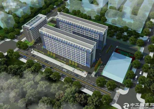 松山湖两栋八层32000平方花园式厂房出租