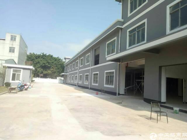 松岗107国道边独门独院全新厂房出租6000平米