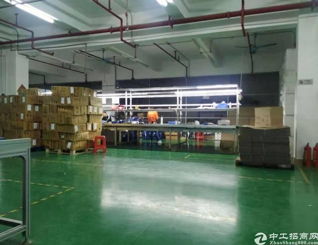 西丽白芒关囗新出厂房1050平方米带装修空地大