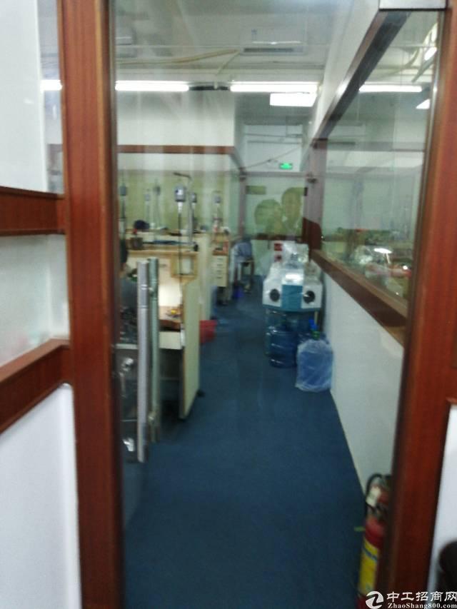 布吉李朗珠宝园新出650平带装修标准厂房出租