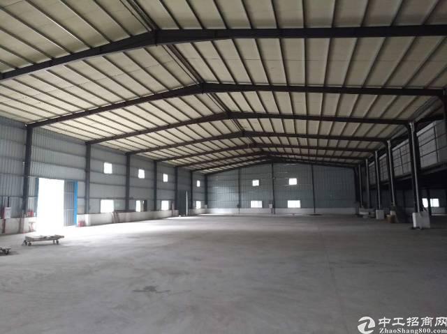 惠阳沙田新出钢构厂房4500平500起分证件齐全