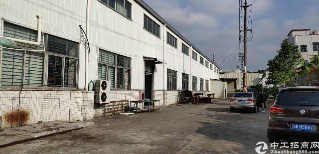 东坑靠近松山湖1688平米钢结构厂房出租