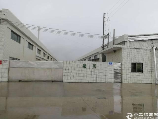 惠州博罗龙华新出钢构厂房6500平方