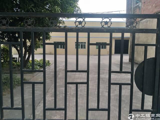 博罗县公庄新空出钢结构独门独院厂房出租约八千平方