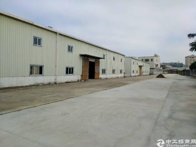 惠州惠阳新出钢构独院厂房可分租可办环评