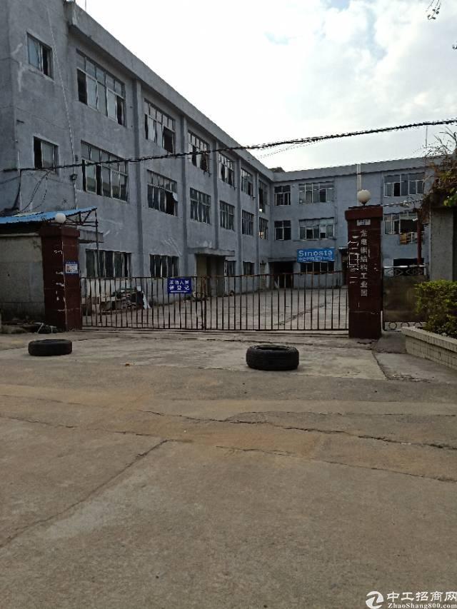 龙岗平湖富民工业区独门独院5600平方厂房出租23元