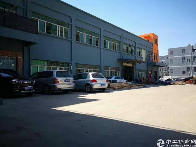 公明长圳1-2层2200平米独院厂房出租