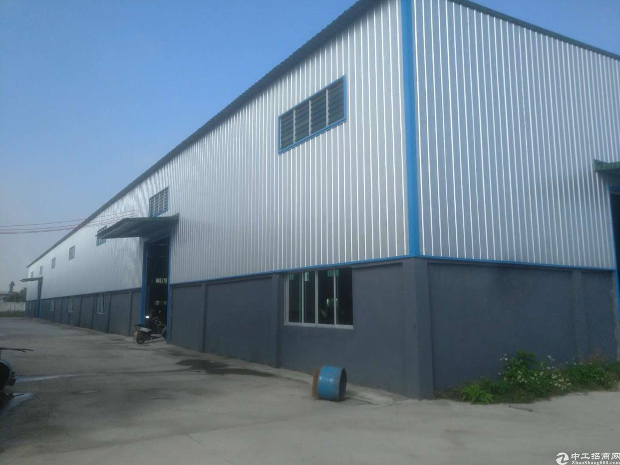 芦洲新出花园式钢结构厂房出租