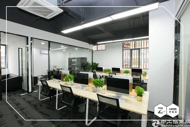 龙华明治深圳北站旁精装修办公室380平水电到位