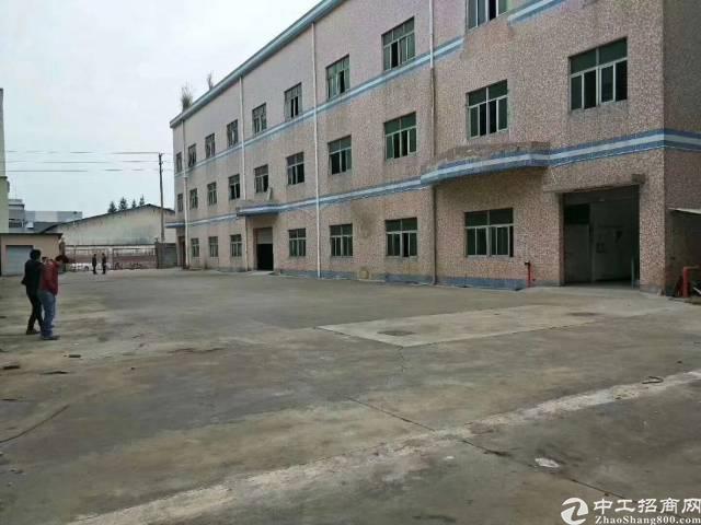 深圳平湖鹅公主干道边原房东厂房出租