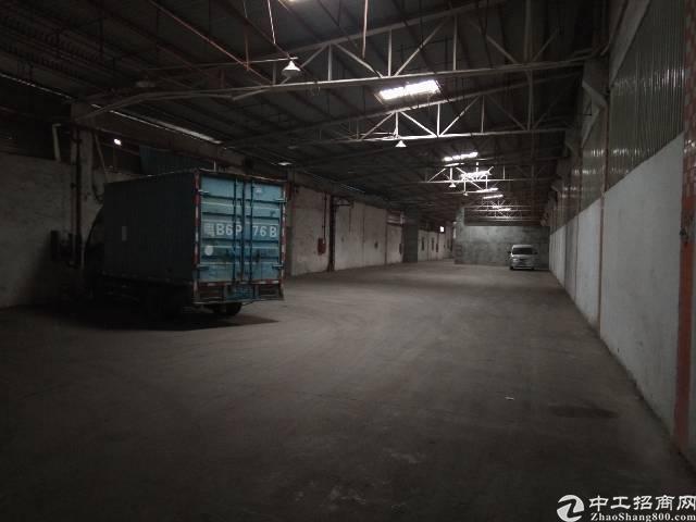 横岗大路边单一层600平厂房出租