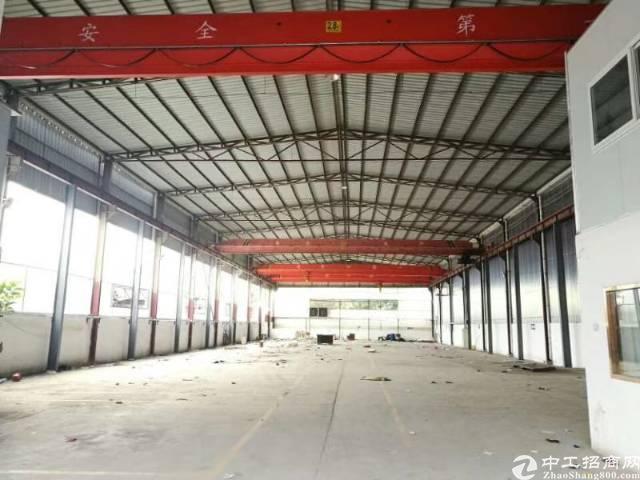 松岗广田路边新出钢构厂房2200平方原房东厂房交通方便价格优