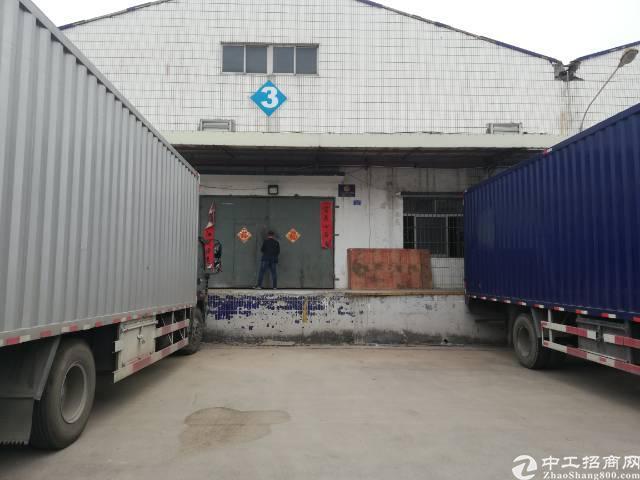 龙华带卸货平台钢构厂房出租3000平方