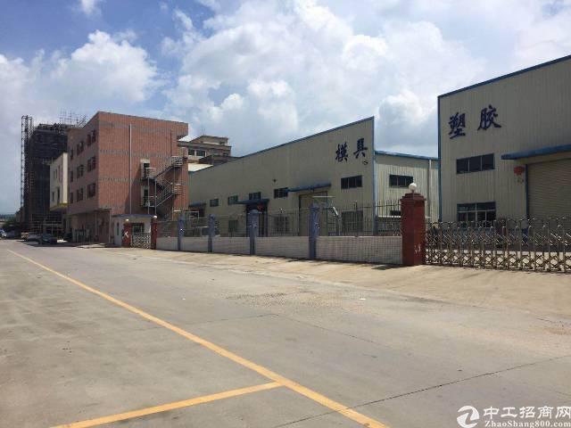 横沥镇钢构长房滴水9米,带现成7部航车厂房招租-图3