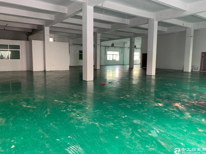 清溪刚新出楼上标准厂房