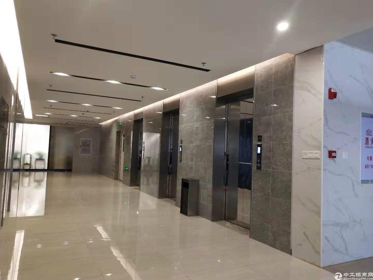 龙岗大运地铁站口精装修厂房办公室出租400平可分租