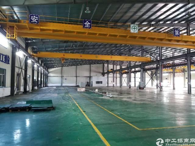 横沥镇钢构长房滴水9米,带现成7部航车厂房招租