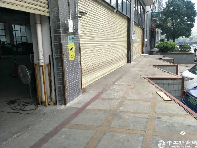 福永主干道旁边一楼,6米高物流仓库福利带卸货平台。