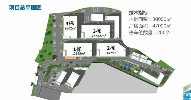 石岩南光新出独院厂房带卸货平台9千到3万平米厂房出租-图3