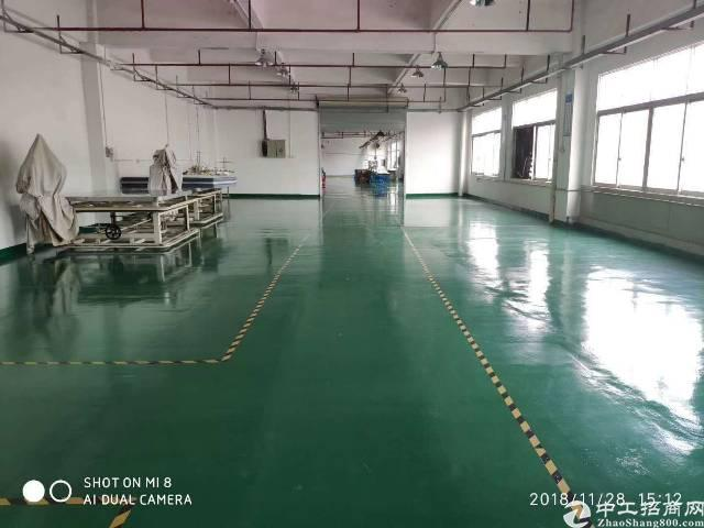 高埗镇工业园区新岀三楼厂房招租!