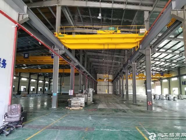 横沥镇钢构长房滴水9米,带现成7部航车厂房招租-图4