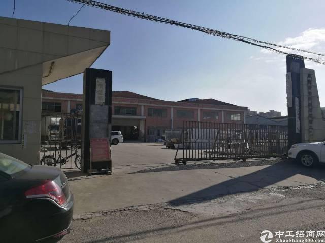 常平镇靠横沥单一层厂房滴水9米砖墙独院厂房出租