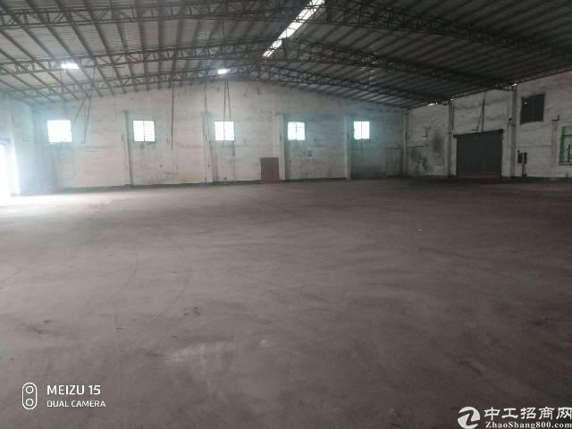 麻涌镇独门独院单一层1800方原房东厂房仓库层高7米