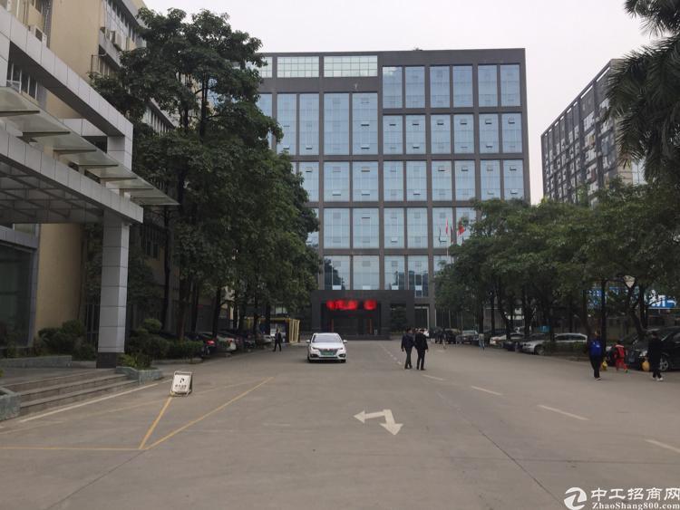 西乡三围工业区4楼1300平精装修厂房