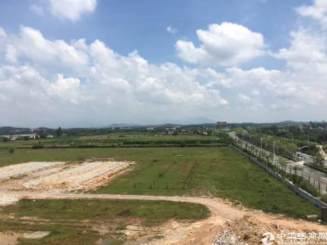 广州花都区两块连片物流用地,共计490亩出售