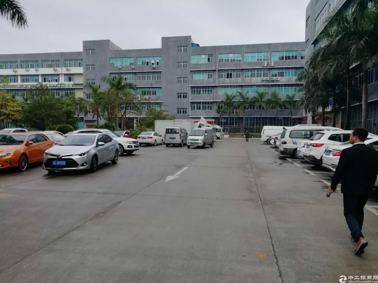 坪山大工业区产业园区标准厂房出租二楼750平