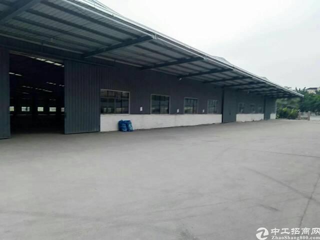 麻涌镇靠高速附近单一层钢构滴水12米带卸货平台物流仓