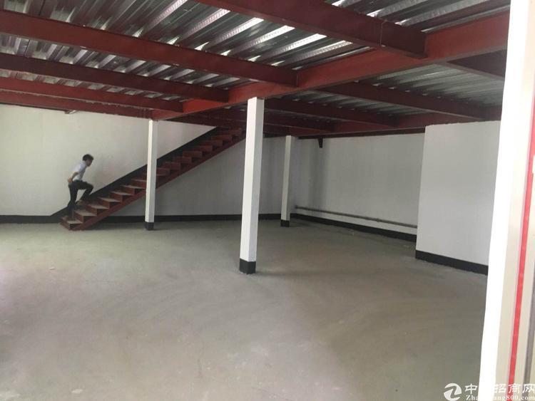 沙井沙三单一层钢构厂房招租560平方