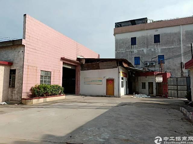 石排镇1300平米原房东单一层厂房出租