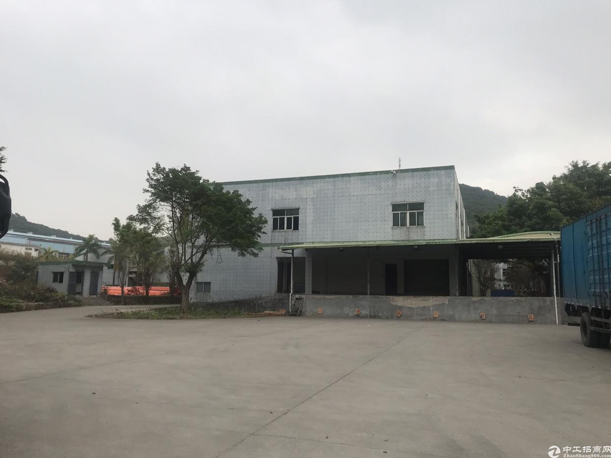 清溪三中独栋5000空地超大带卸货平台仓库客户的首选