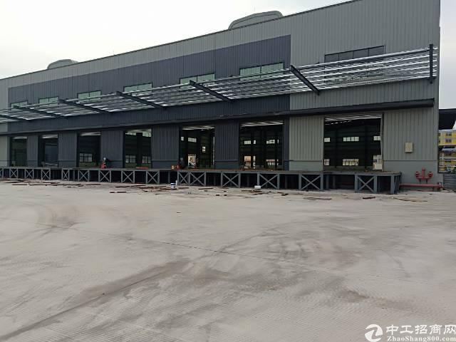 万江位置佳近高速路口九成新独门独院钢构2000厂房