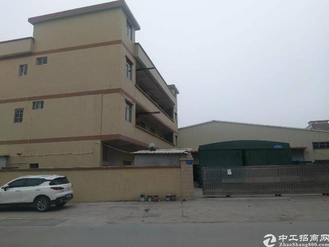 企石镇原房东独院单一层铁皮房2500平方