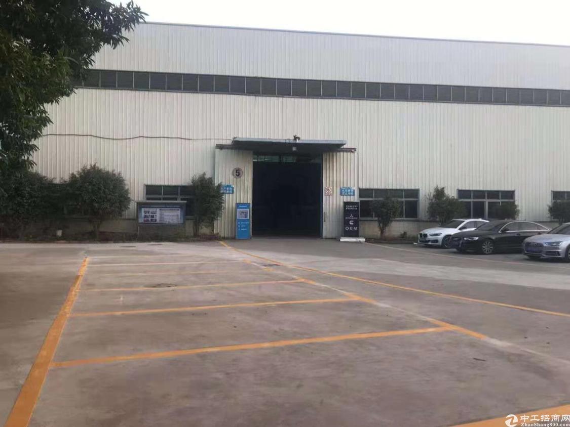 福永镇宝安大道地铁口12米高钢构厂房实际面积2000平方出租