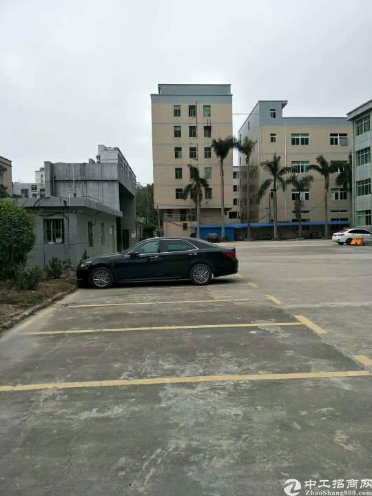 坂田路口边新出楼上850平米,现成装修,水电齐全,2吨