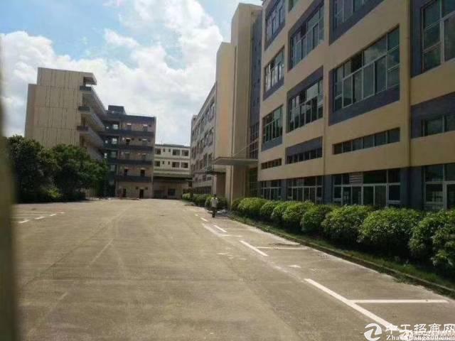 福永桥头楼上整层1360平方精装修厂房出租