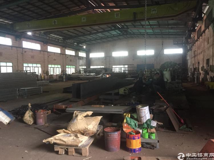 坪山维一标钢构滴水10米3000平米重型工业厂房招租