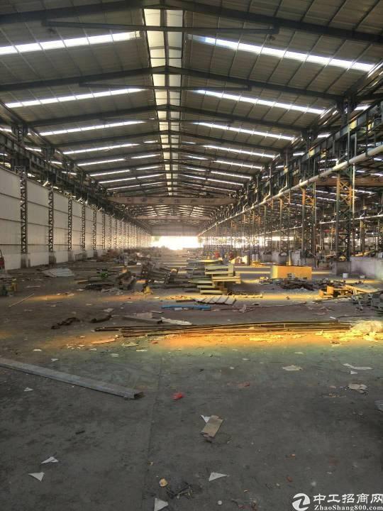 厂房出租6000原房东钢构滴水十米带行车线路