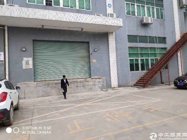 福永新和沿江高速附近一楼物流仓库1100平方有卸货平台
