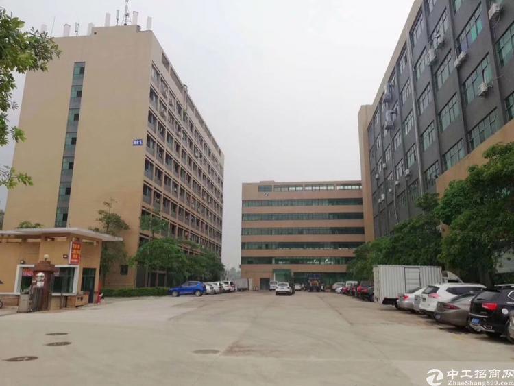 公明田寮靠近南光高速旁新出楼上整层大面积厂房3600平