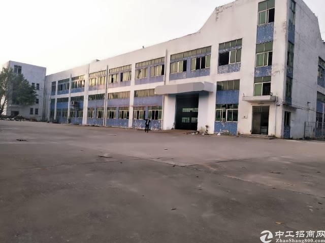 沙井宝安大道边上地铁口旁边新出独院厂房1到2层8700平方