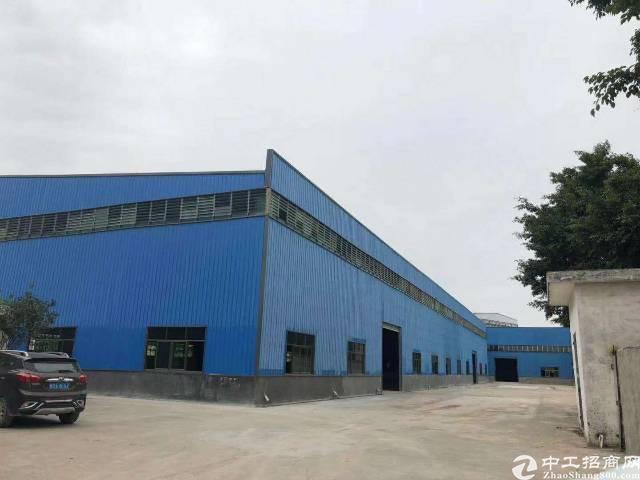 惠州园洲滴水9米高独院钢构厂房6000平10元/平
