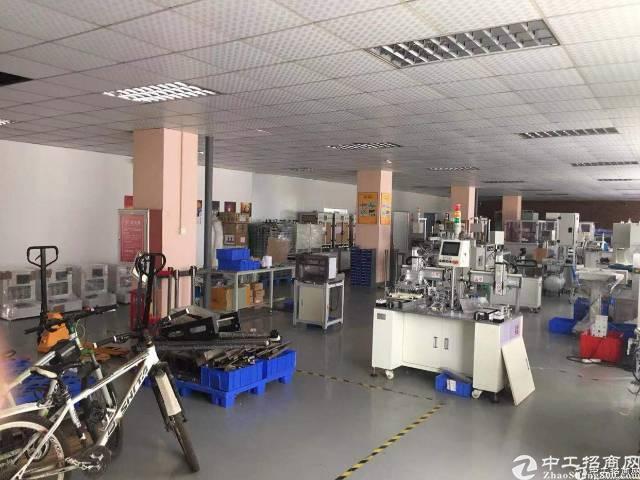 西乡固戍地铁口8000平厂房出租100平起分可办环评-图3